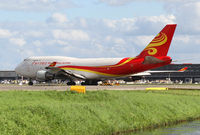 B-2437 @ EHAM - Yangtze River Airlines Boeing 747 - by Andreas Ranner