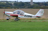 G-CDIG @ X3CX - Departing from Northrepps. - by Graham Reeve