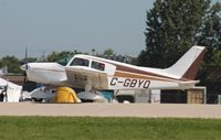 C-GBYQ @ KOSH - Piper PA-28-140 - by Mark Pasqualino
