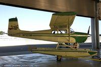 N7223M @ KBAF - Cessna 175 Skylark  C/N 55523, N7223M