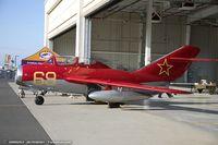 N669MG @ KBAF - PZL Mielec SBLim-2 (MiG-15UTI)  C/N 1A07009, N669MG