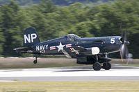 N45NL @ KBAF - Chance Vought F4U-5NL Corsair  C/N 124692C, NX45NL