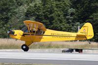 N92400 @ KBAF - Piper J3C-65 Cub  C/N 16862, N92400