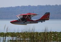 N174SR - Searey over Lake Apopka Florida