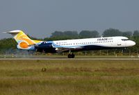 9A-BTD @ EDSB - arrival from Manchester - by Gerhard Ruehl
