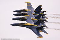 163485 @ KYIP - F/A-18C Hornet 163485  from Blue Angels Demo Team  NAS Oceana, VA - by Dariusz Jezewski www.FotoDj.com