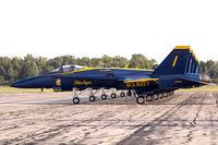 163485 @ KYIP - F/A-18C Hornet 163485  from Blue Angels Demo Team  NAS Oceana, VA - by Dariusz Jezewski www.FotoDj.com