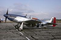 N151BW @ KYIP - North American P-51D Mustang Cripes A'Mighty IV  C/N 44-74813, NL151BW - by Dariusz Jezewski www.FotoDj.com