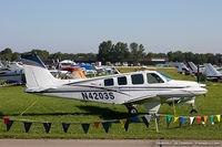 N4203S @ KOSH - Beech A36 Bonanza  C/N E-958 , N4203S