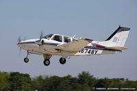 N6748Y @ KOSH - Beech 95-B55 Baron  C/N TC-2317, N6748Y - by Dariusz Jezewski www.FotoDj.com
