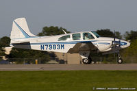 N7983M @ KOSH - Beech D95A Travel Air  C/N TD-671 , N7983M