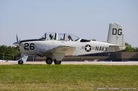 N834G @ KOSH - Beech A45 (T-34A) Mentor  C/N CCF34-95, N834G