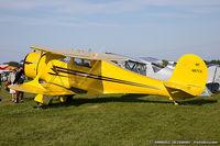 N487CC @ KOSH - Beech D17S Staggerwing  C/N 4837, NC487CC