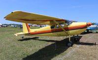 N180CW @ LAL - Cessna 180