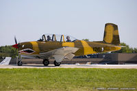 N44007 @ KOSH - Beech A45 (T-34A) Mentor  C/N G-126, N44007