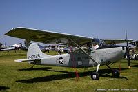 N413PG @ KOSH - Cessna 305A L-19A Bird Dog  C/N 22167, N413PG