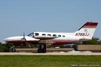 N788JJ @ KOSH - Cessna 421B Golden Eagle  C/N 421B0851 , N788JJ