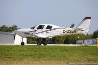 C-GSEK - Lancair IV  C/N 193, C-GSEK