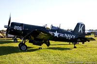 N240CF - Chance Vought F4U-4 Corsair  C/N 9513, NX240CF