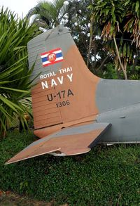 1306 - Tail, Royal Thai Navy Memorial , Sattahip / Thailand - by Gerhard Ruehl