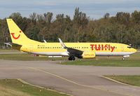D-ATUL @ EDSB - TUIfly - by Gerhard Ruehl