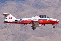 114050 @ KBOI - Landing RWY 10L. - by Gerald Howard