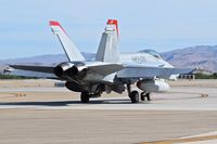 165191 @ KBOI - Taxiing to RWY 28L.  VMFA-232 Red Devils, NAS Miramar, CA. - by Gerald Howard