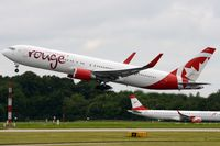 C-GHLV @ EGCC - Rouge B763 departing for Canada. - by FerryPNL
