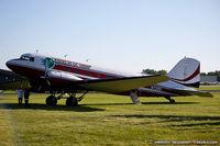 N728G @ KOSH - Douglas DC-3C  C/N 4359, N728G - by Dariusz Jezewski  FotoDJ.com