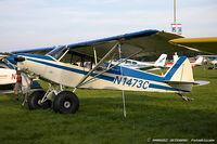N1473C @ KOSH - Piper PA-18 Super Cub  C/N 18-2677, N1473C
