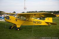 N23151 @ KOSH - Piper J3C-65 Cub  C/N 2932, N23151