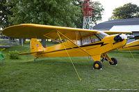 N3581N @ KOSH - Piper J3C-65 Cub  C/N 22822, NC3581N