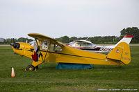 N6357H @ KOSH - Piper J3C-65 Cub  C/N 19536, NC6357H