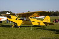 N98406 @ KOSH - Piper J3C-65 Cub  C/N 18593, NC98406