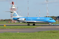 PH-KZP @ EGSH - Under tow at Norwich. - by Graham Reeve