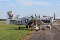 N83AW @ KOSH - North American T-28B - by Mark Pasqualino