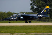 N120AU @ KOSH - Dassault-Dornier Alpha Jet  C/N 120, N120AU
