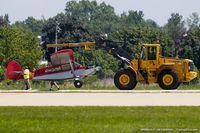 N410BP @ KOSH - Barrows Bearhawk Patrol C/N P01-P001/P002-P121, N410BP - hard landing
