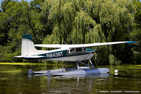 N8438T @ KOSH - Cessna 182B Skylane  C/N 52338, N8438T