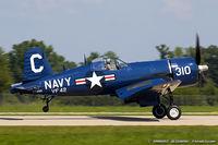 N72378 @ KOSH - Chance Vought F4U-4 Corsair  C/N 97388, NX72378