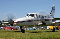 D-INFO @ KOSH - Piper PA-31T2 Cheyenne IIXL  C/N 31T-8166031, D-INFO
