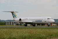 D-AOLG @ LOWG - Avanti Air Fokker 100 @GRZ - by Stefan Mager