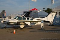 N1129S @ KOSH - Raytheon G58 Baron  C/N TH-1812, N1129S - by Dariusz Jezewski www.FotoDj.com