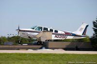 N2201U @ KOSH - Raytheon B36TC Bonanza  C/N EA-601 , N2201U