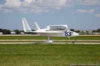 N83DT @ KOSH - Rutan Long-EZ  C/N 534, N83DT