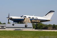 N943KM @ KOSH - Piper PA-46-500TP Malibu Meridian  C/N 4697429, N943KM