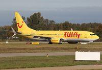 D-ATUB @ EDSB - TUIfly - by Gerhard Ruehl