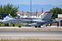 165194 @ KBOI - taxiing on Bravo.  VMFA-232 Red Devils, NAS Miramar, CA. - by Gerald Howard