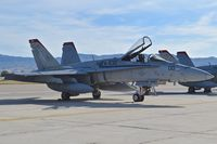165181 @ KBOI - Parked on the south GA ramp.  VMFA-232 :Red Devils, NAS Miramar, CA. - by Gerald Howard