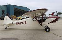 N6797B @ KRFD - Piper PA-18-150